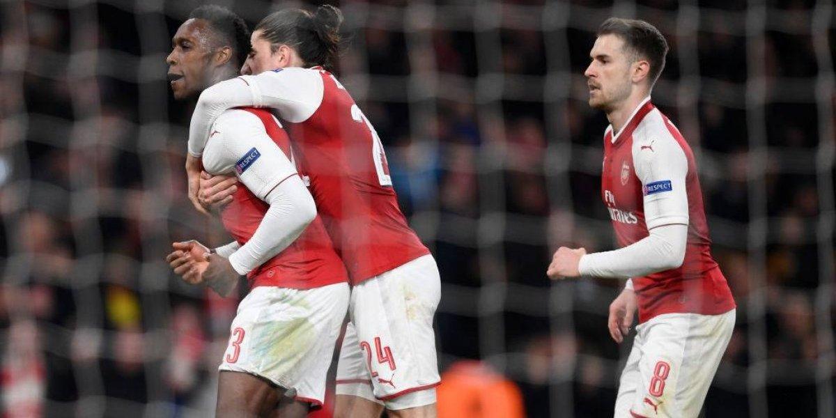 Arsenal se olvidó de Alexis y eliminó a Milan para meterse en cuartos de la Europa League