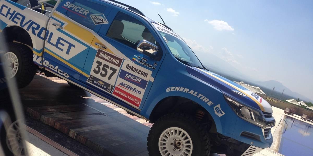"""Sebastián Guayasamín: """"Nuestro objetivo es ganar el Dakar en 2019"""""""