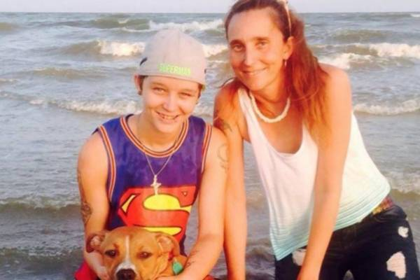 Patricia y Misty, madre e hija