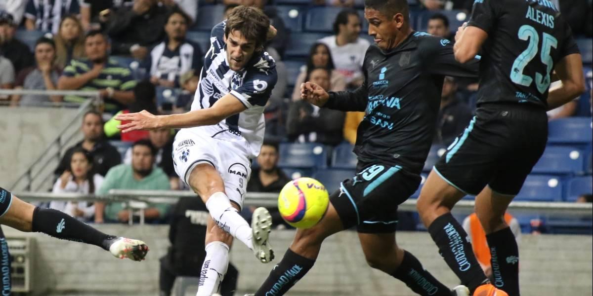 Monterrey luce en el segundo tiempo y supera 3-1 a Querétaro
