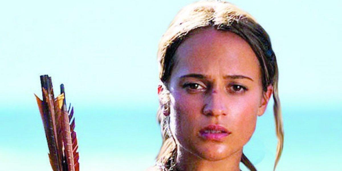 """Alicia Vikander: """"Le dimos un lado humano a Lara Croft"""""""