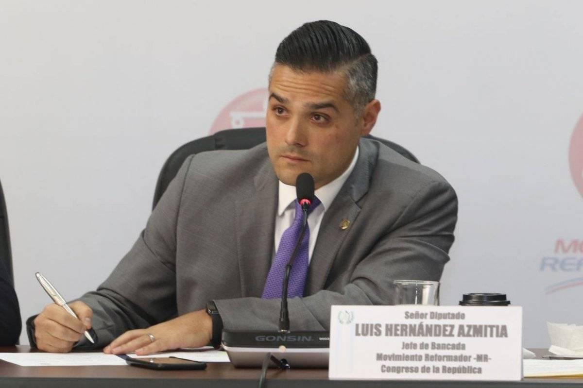 Luis Hernández Azmitia, diputado del Movimiento Reformador. Foto: Facebook
