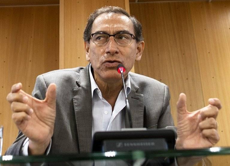 Martin Vizcarra, vicepresidente peruano