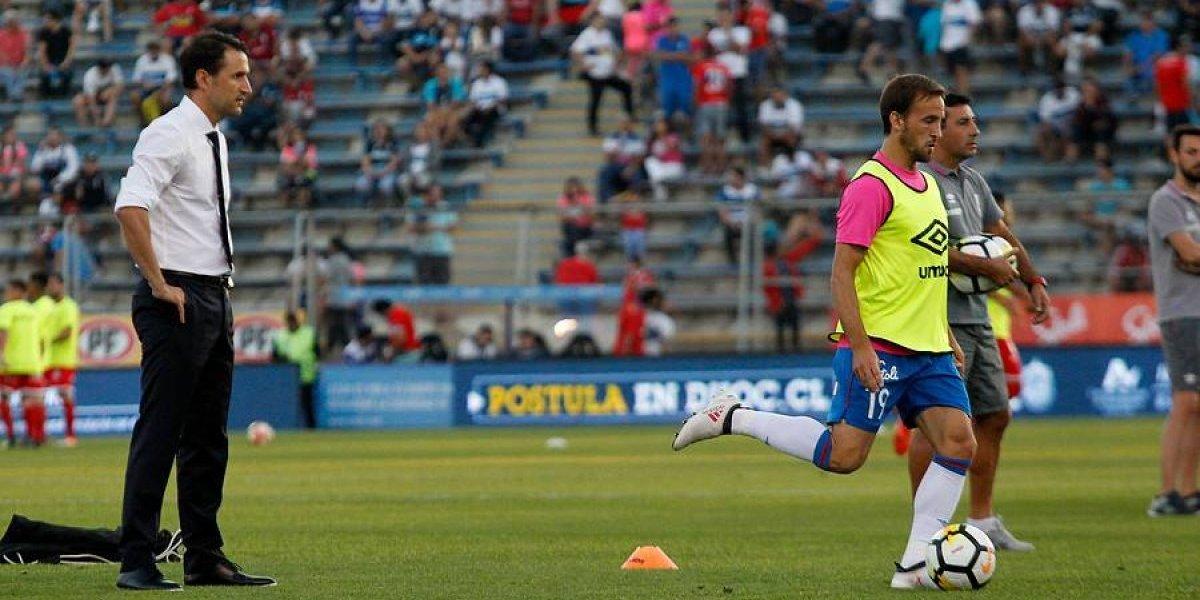 """Beñat se rinde ante el Chapa Fuenzalida: """"Es tan completo y tan inteligente que donde lo ponga va a jugar bien"""""""