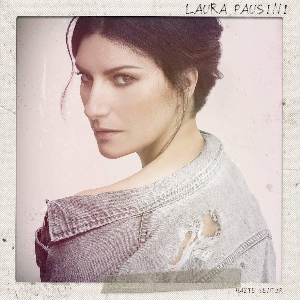 Laura Pausini presentó su nueva producción discográfica desde las alturas