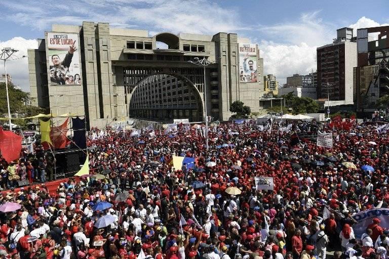Movilizaciones en Caracas