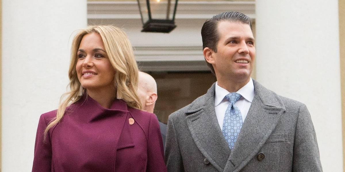 Mulher de Donald Trump Jr. pede divórcio