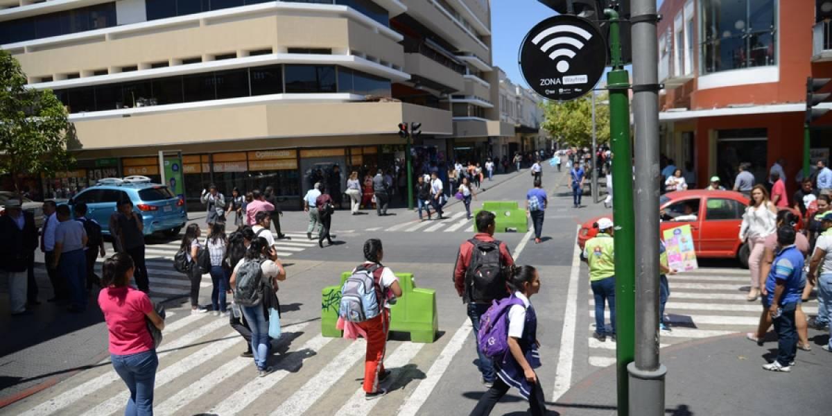 WiFi gratis en el Paseo de la Sexta