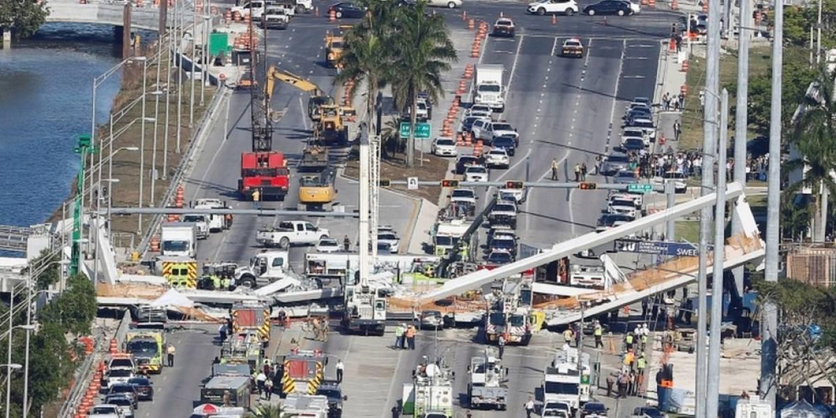 """O que é uma """"ponte instantânea"""" como a que caiu em Miami, matando 6 pessoas"""