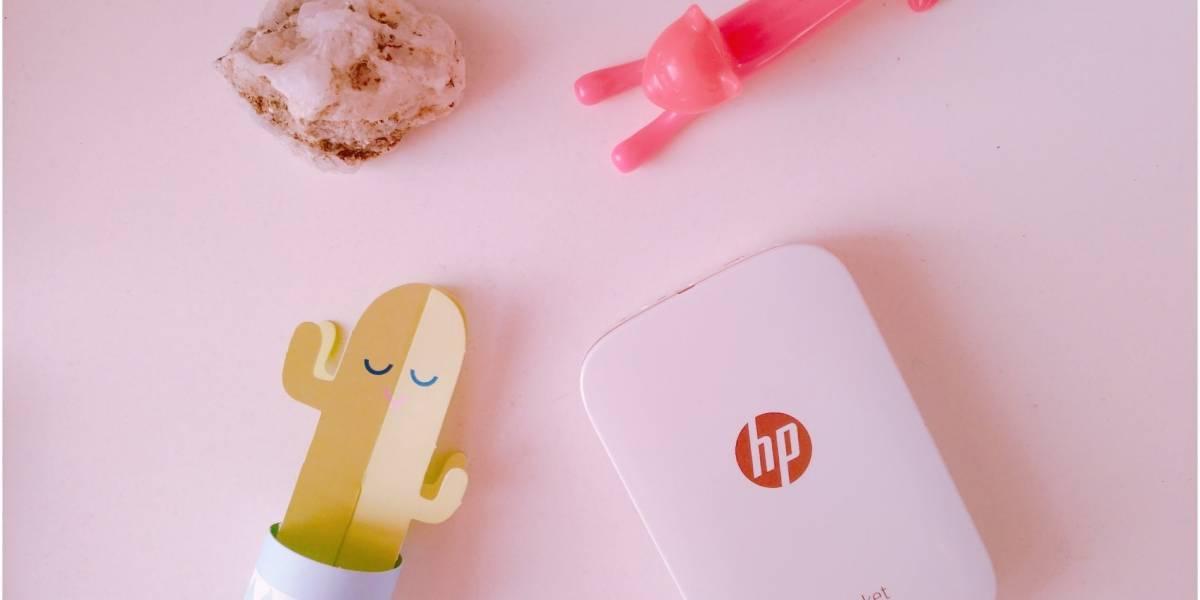 Probamos la HP Sprocket, la impresora de fotografías instantánea [FW Labs]