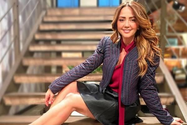 Andrea Legarreta de joven
