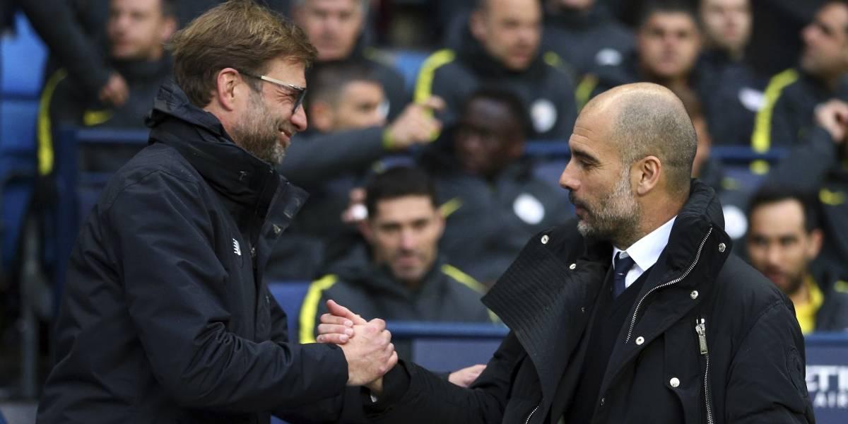 Ilusión para Liverpool: Jurgen Klopp es el técnico que más veces ha vencido a Pep Guardiola
