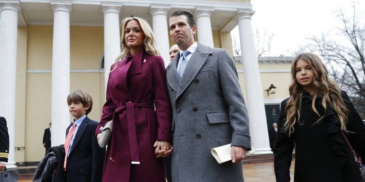 La esposa de Donald Trump Jr. pide el divorcio