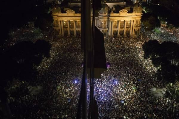 protestas Río