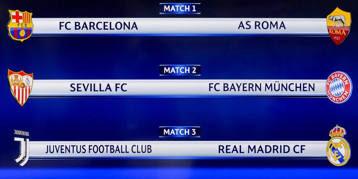 ¡Revancha! Real Madrid se enfrentará a Juventus en cuartos de Champions