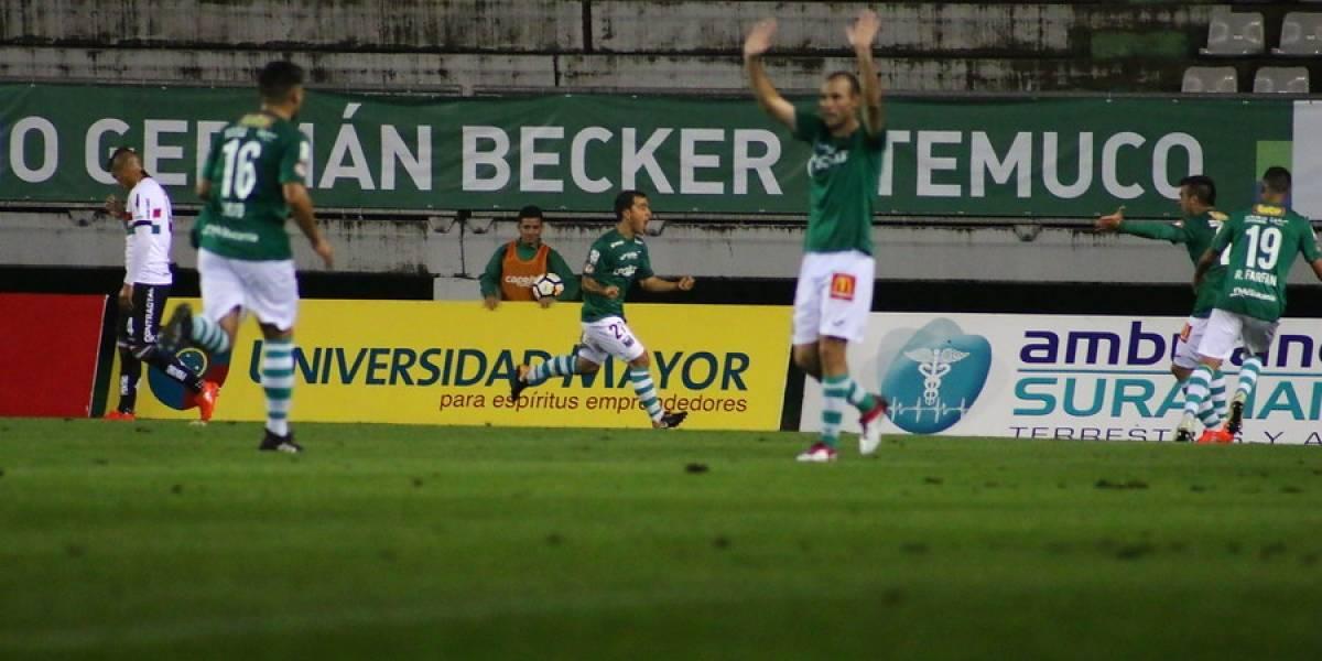 Temuco logró su primer triunfo del torneo bajo un diluvio ante Palestino