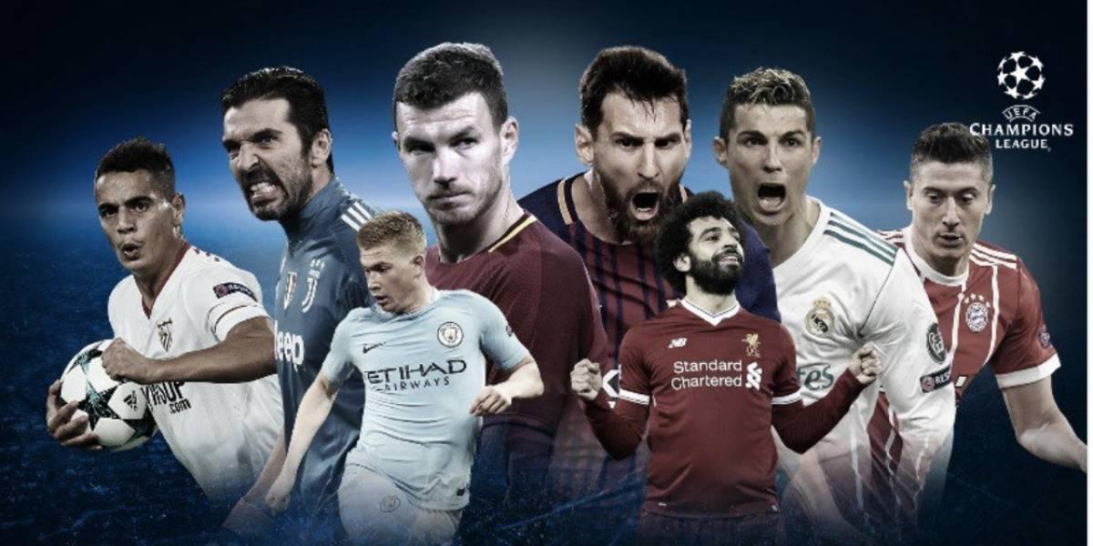 Quedó definido el cuadro de los cuartos de final de la Champions League
