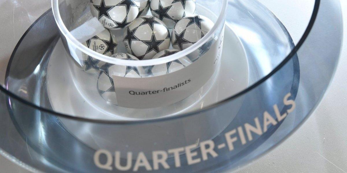 ¿Cuándo y a que hora se juegan los cuartos de final de Champions League?
