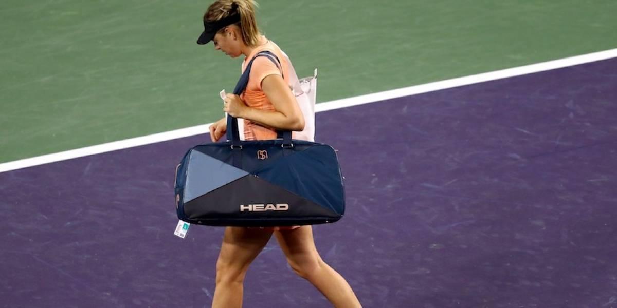 María Sharapova no jugará el Abierto de Miami