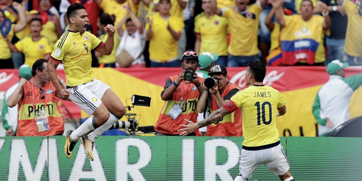 James y Falcao lideran convocatoria colombiana contra Francia y Australia