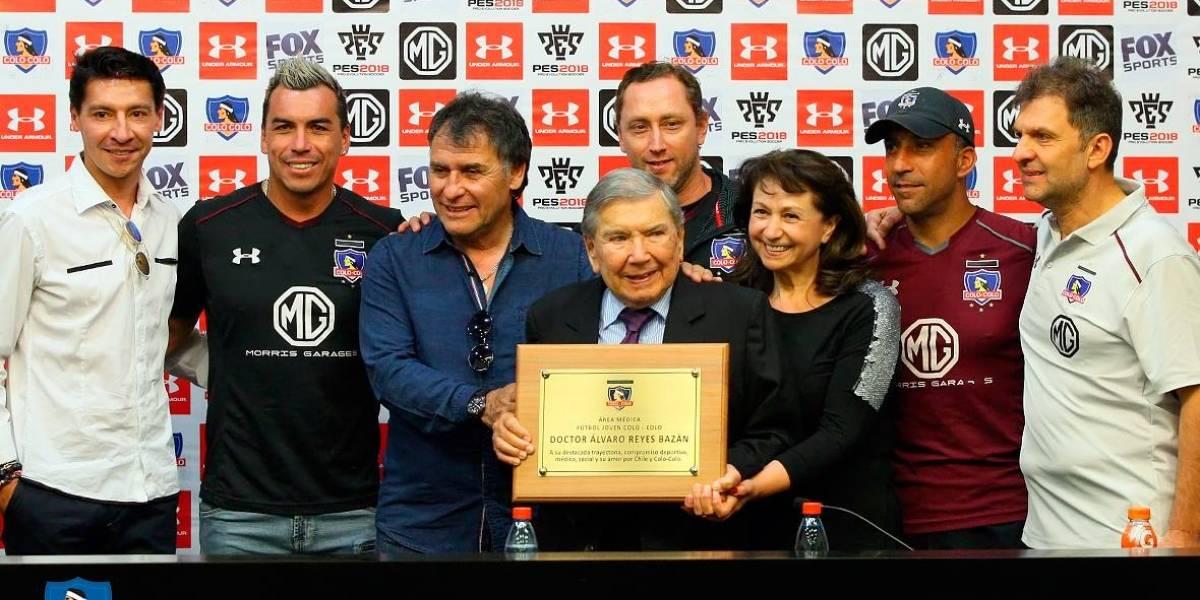 El emotivo homenaje que le realizó Colo Colo a emblemático doctor del club