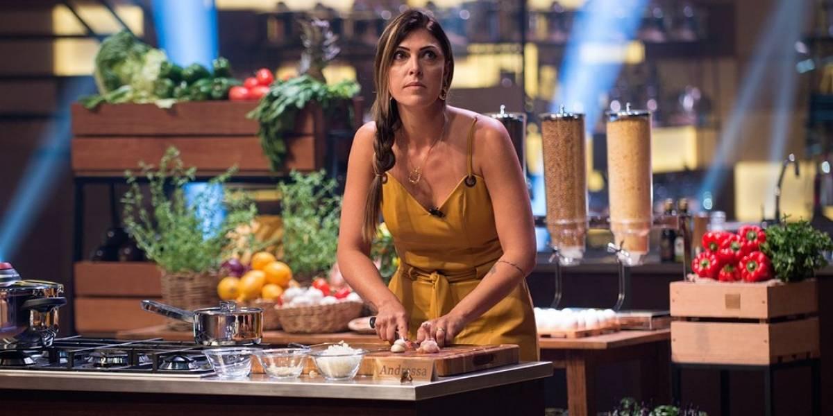 MasterChef: Joguei toda minha emoção na comida, diz Andressa sobre sua prova
