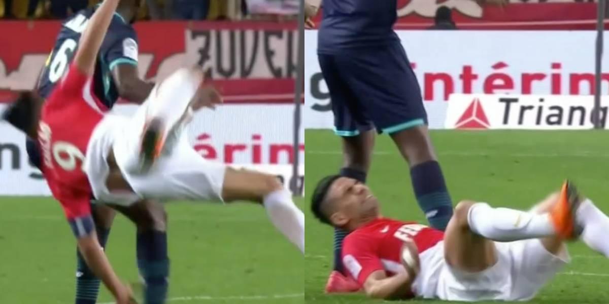 Duro golpe de Falcao García con AS Monaco VS Lille por Ligue 1