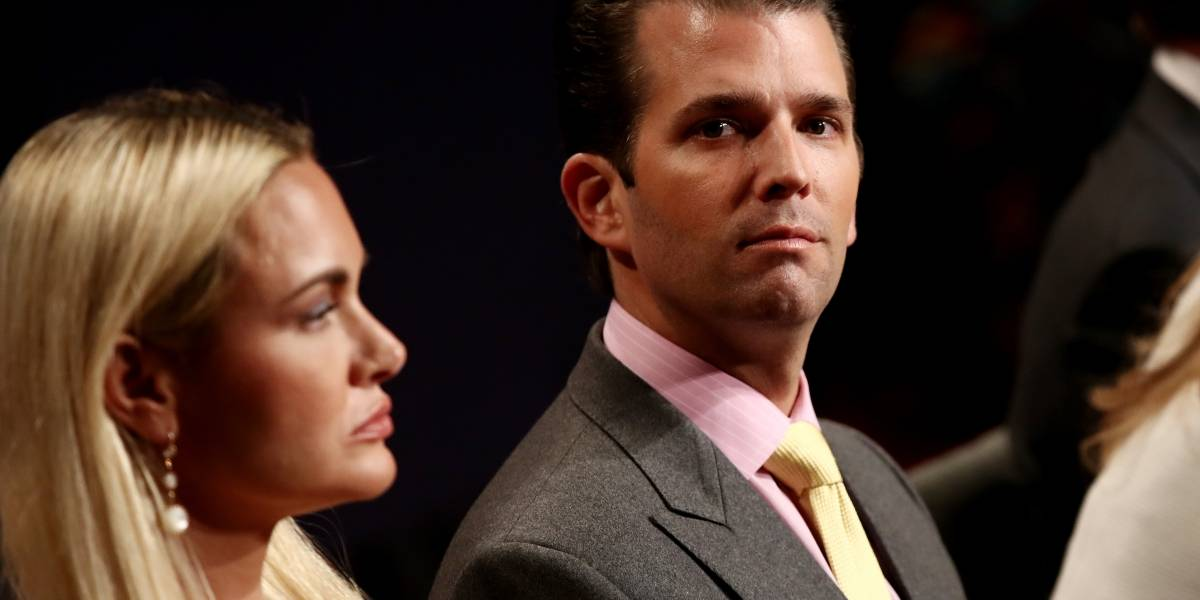 Donald Trump Jr. confirma divorcio con esta foto