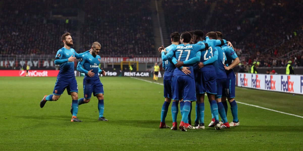 Arsenal y Atlético Madrid se evitan en los cuartos de final de la Europa League