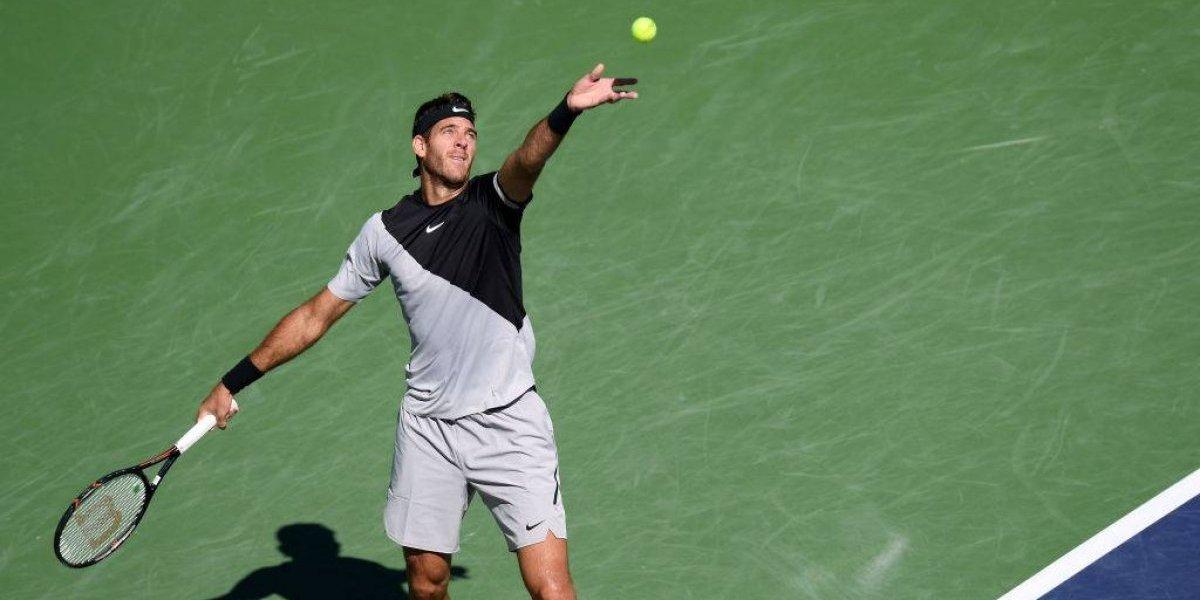 Del Potro y Raonic superan duros escollos y chocarán en semifinales de Indian Wells