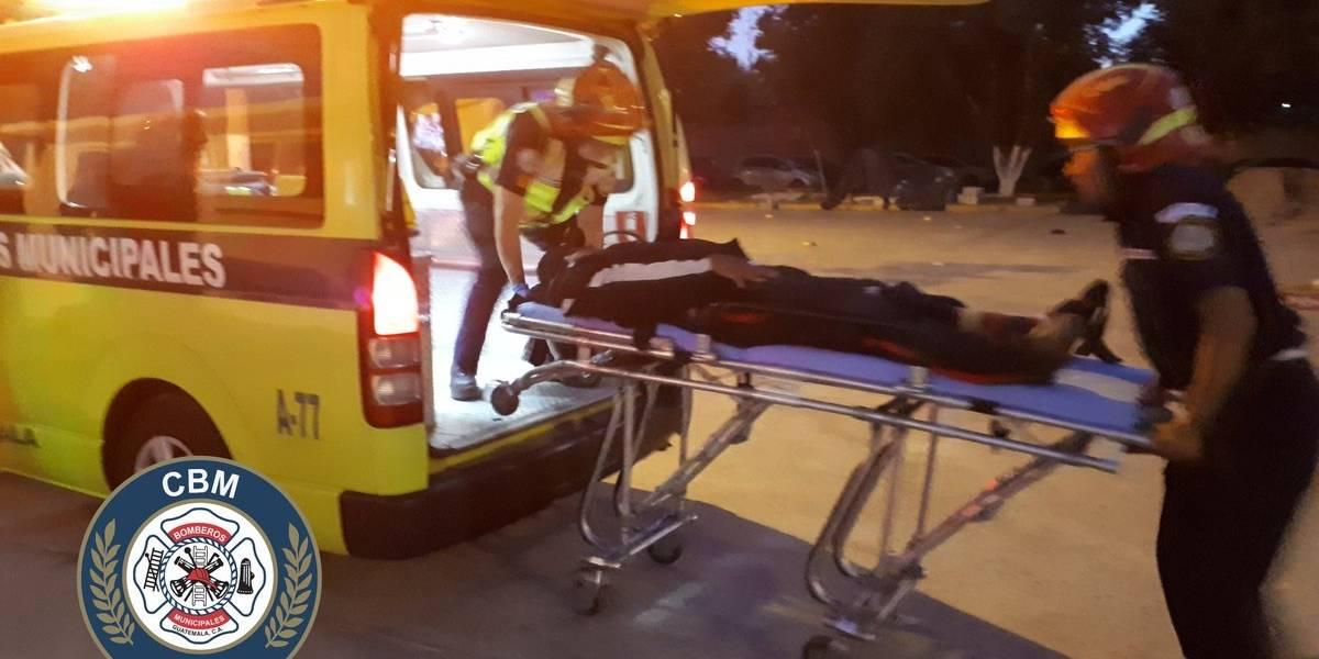 Incidente armado deja a agente de seguridad privada herido