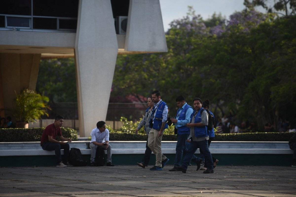 Observadores de DD. HH. acompañaron declaratoria de huelga