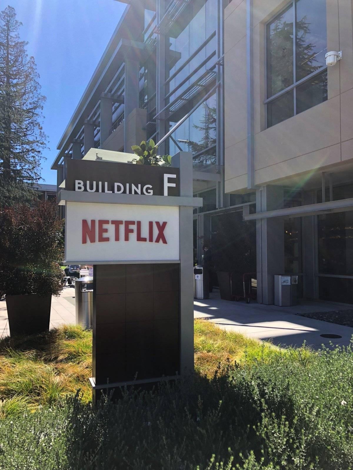 Edificio F de Netflix en Los Gatos