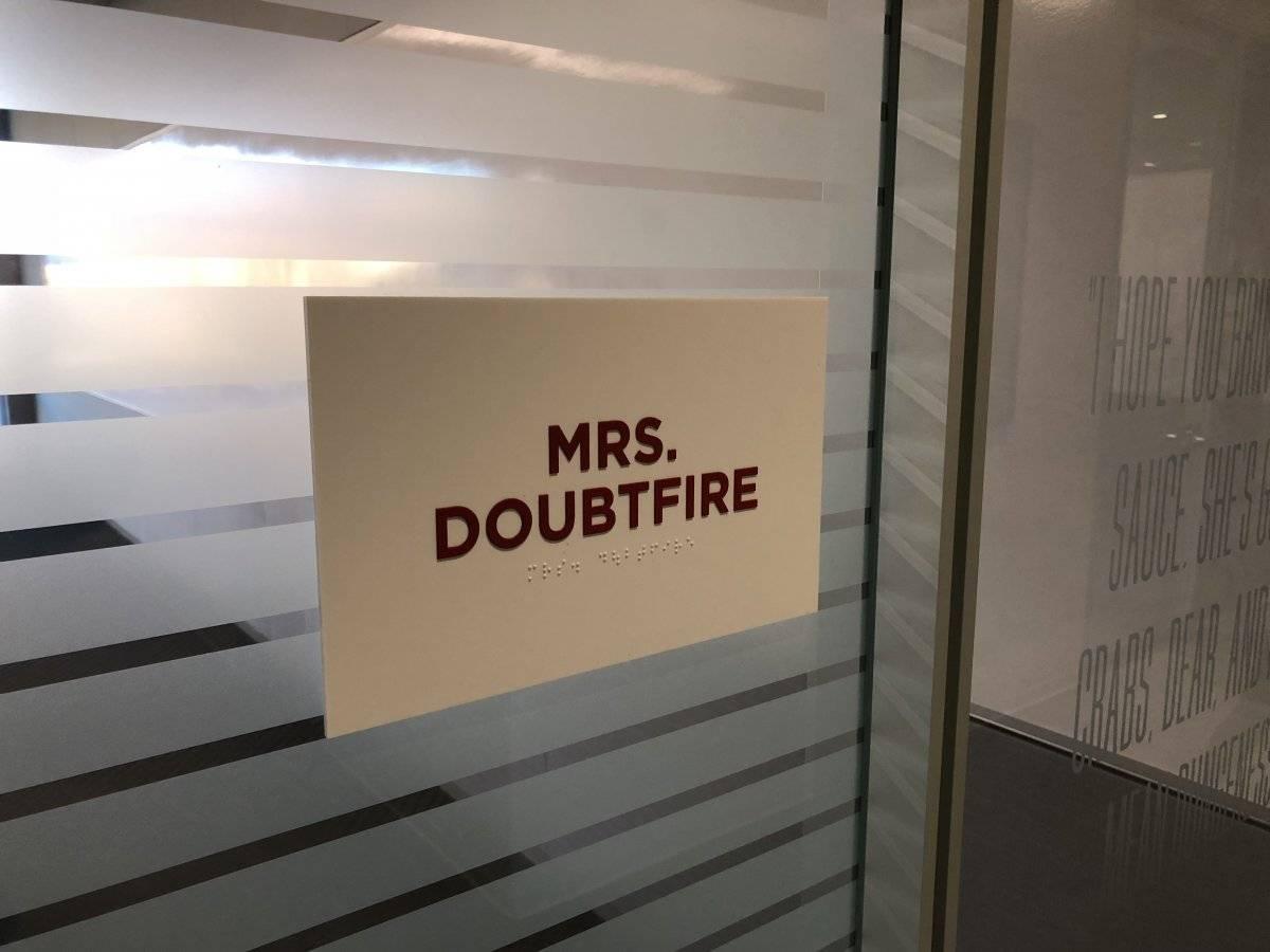 Sala Mrs. Doubtfire
