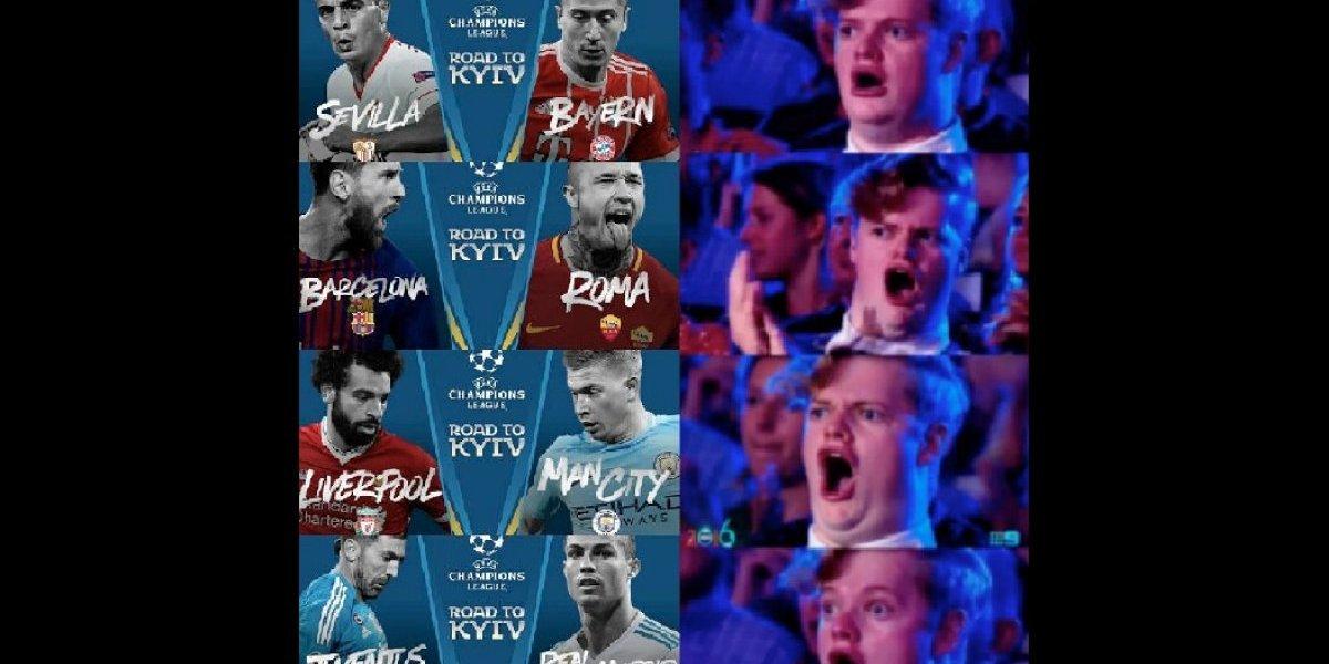 Diviértete con los mejores memes del sorteo de la Champions