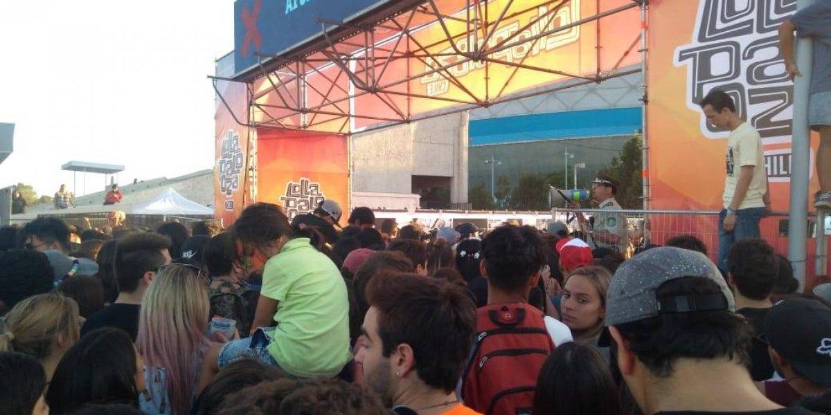 Lollapalooza 2018: El caótico ingreso al Movistar Arena