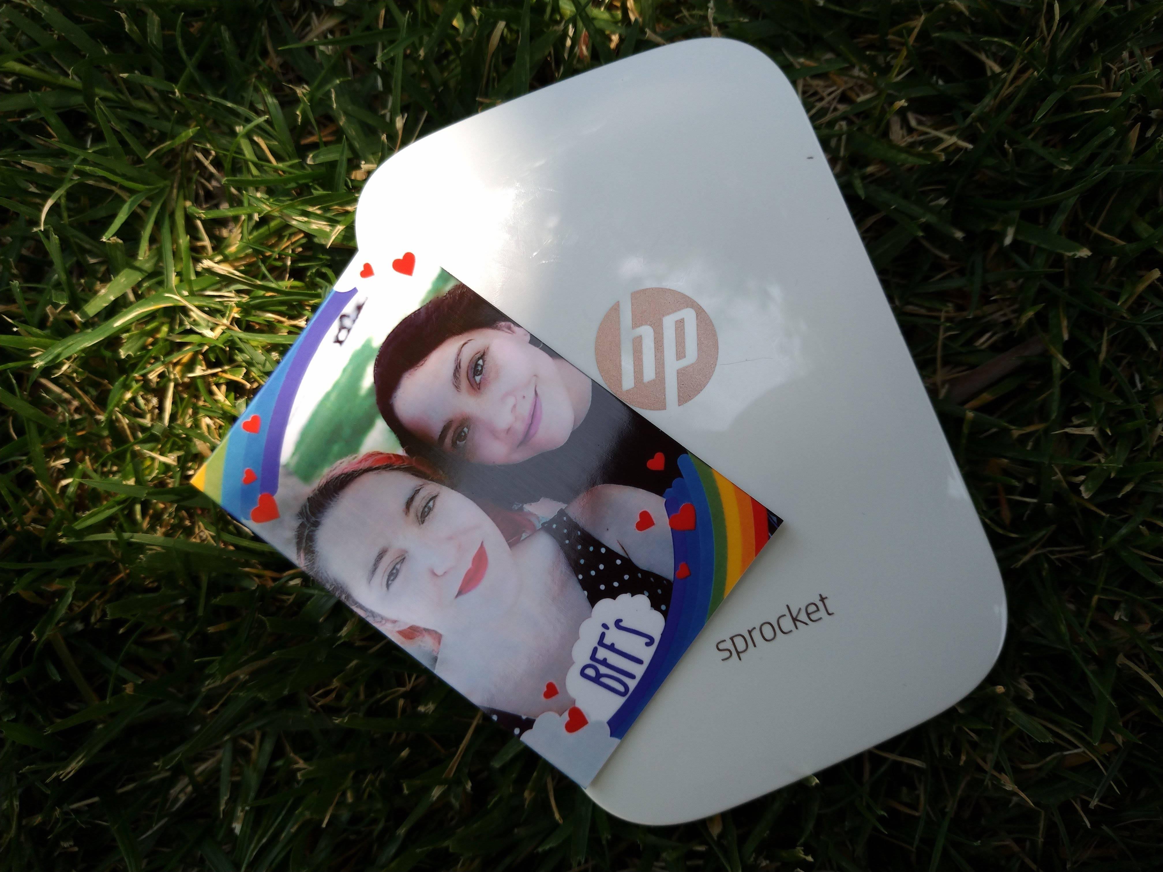 Probamos la HP Sprocket, la impresora de fotografías instantánea