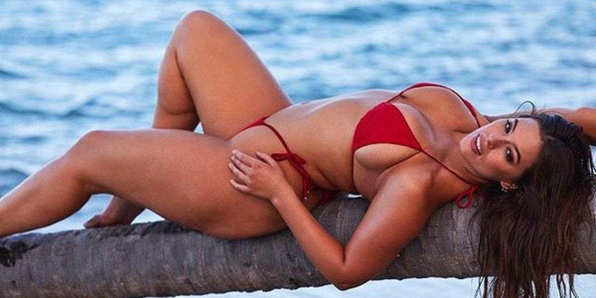 Ashley Graham, la modelo que cautivó a los jugadores del West Ham