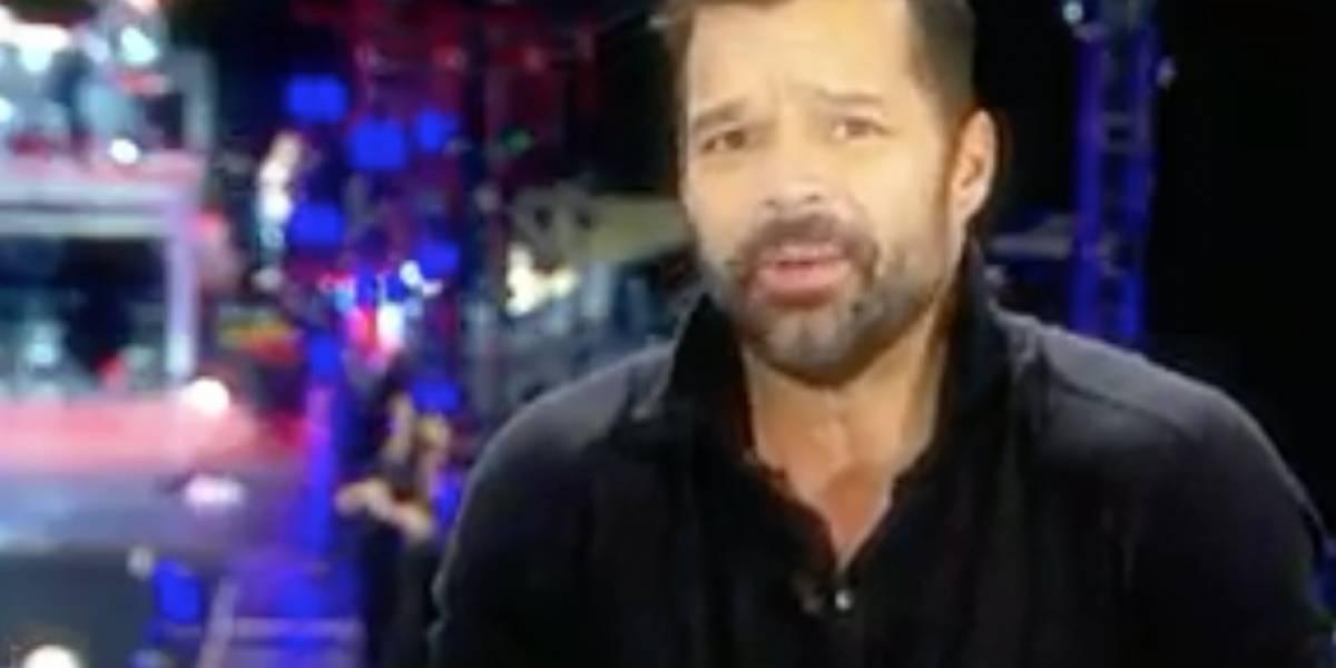 Ricky Martin teme mandar a sus hijos a la escuela