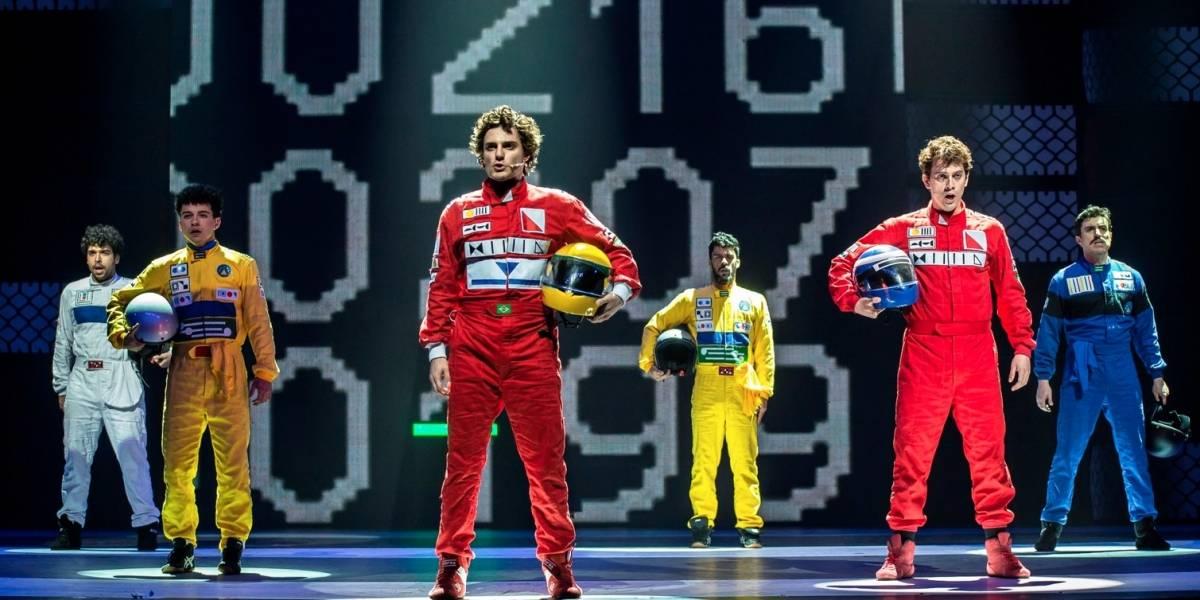 Ayrton Senna, o Musical será exibido em salas de cinema no dia 1º de maio
