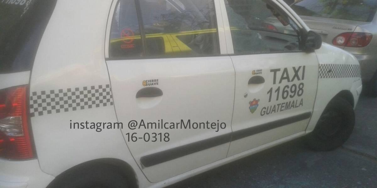 Taxista resulta herido tras ataque armado en zona 5