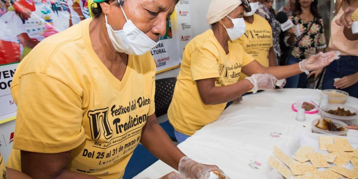 Las matronas de Luruaco, Atlántico celebran su tradicional Festival del Dulce