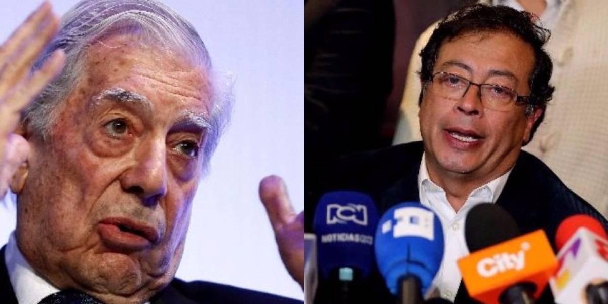 Las fuertes palabras de Mario Vargas Llosa en contra de Petro