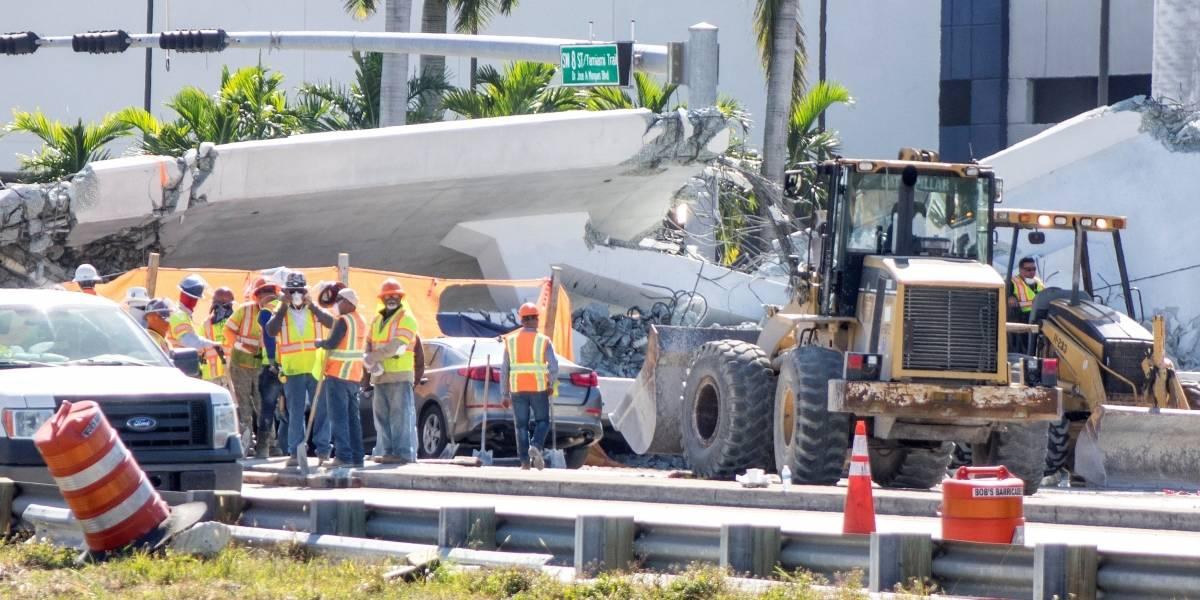 """Dejaron """"en visto"""" a ingeniero que advirtió la caída de un puente en Miami"""