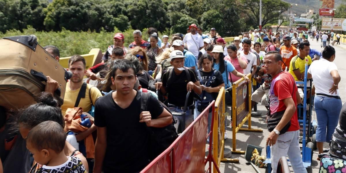 Más de 200.000 venezolanos registrados en Colombia en el primer mes del censo