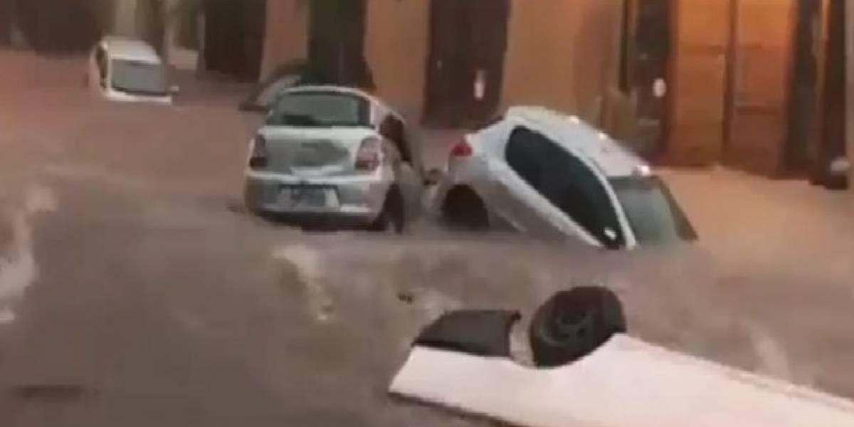 Chuva em Belo Horizonte: Veja a força das águas em vídeos feitos pelos internautas