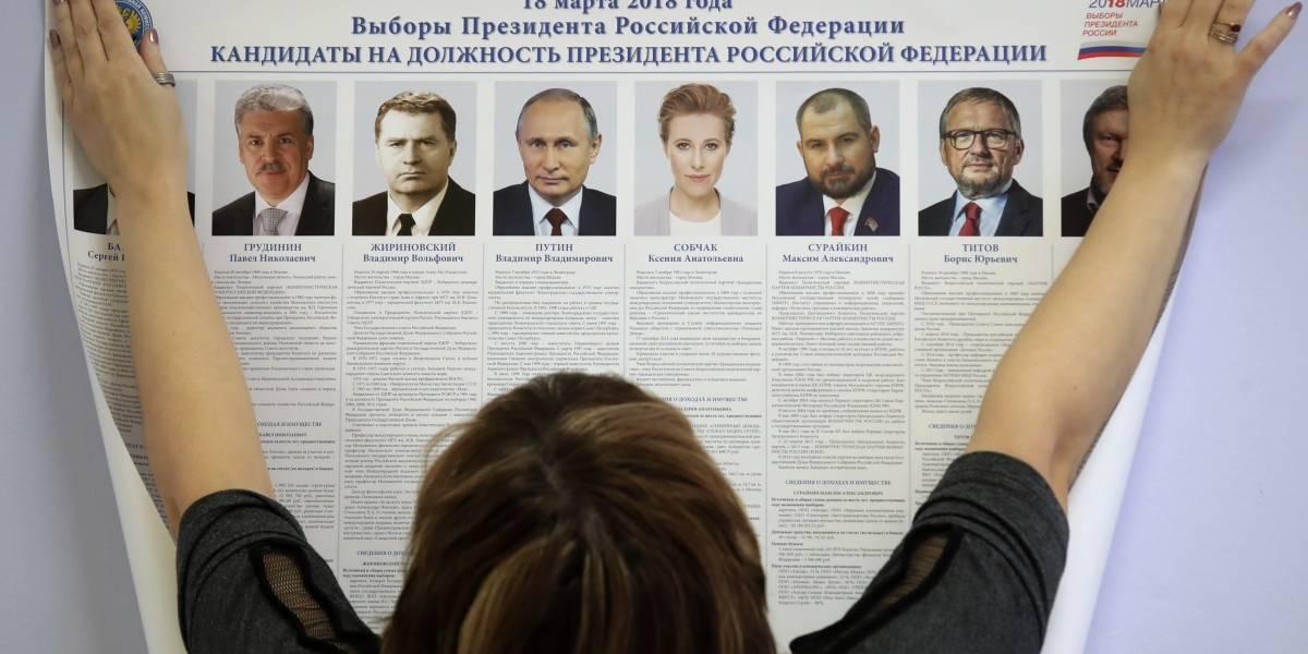 Rusia se prepara para victoria de Vladimir Putin en elecciones presidenciales