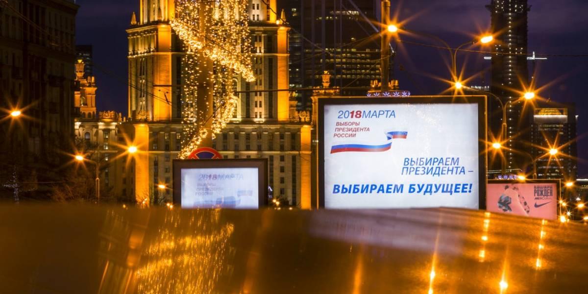 Rusia se prepara para victoria de Putin en presidenciales