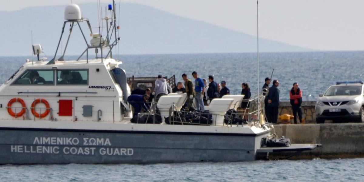 Al menos 16 migrantes murieron en aguas griegas tras naufragar su barco
