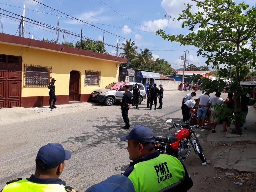 Asesinan alcalde Zacapa